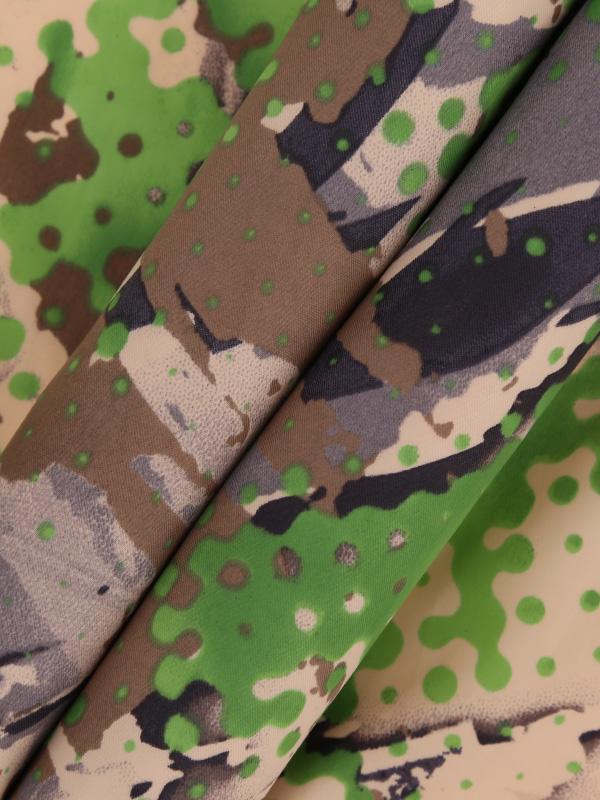 1/2 Nylon Camo Superthin Down Fabric