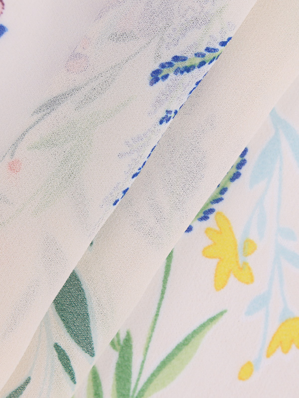 38*33 Density P75D*P75D Specification Printed Chiffon